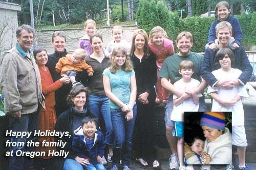 The Oregon Holly Family