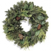 Northwest Forest Christmas Wreath