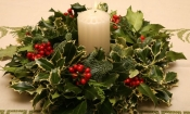 Holly and Fir Wreath