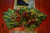 "34"" Andromeda & Holly Table Runner"
